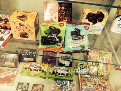 A selection of Meiji treats...