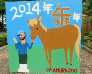Hamura Zoo in August.